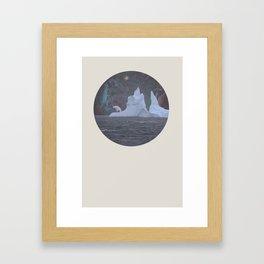 The Lonely Polarcorn Framed Art Print