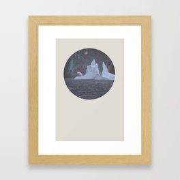 The Lonely Polarcorn Framed Art Print