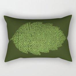 Leafprint Rectangular Pillow