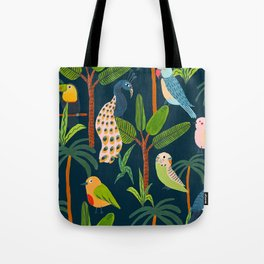 Jungle Birds Tote Bag