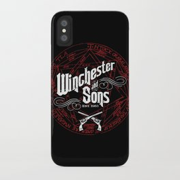 Winchester & Sons iPhone Case