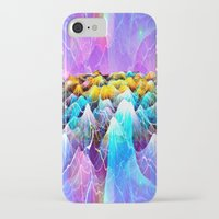 data iPhone & iPod Cases featuring Data Sea by NatalieCatLee