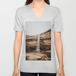 Waterfall XXIII Unisex V-Neck