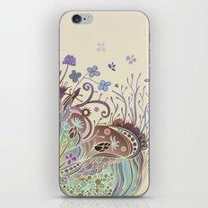Thistle_tangle iPhone & iPod Skin