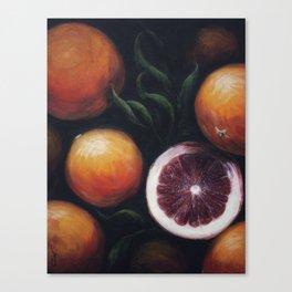 Blood Oranges Canvas Print