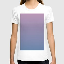 Gradient Dawn Pink Purple Blue T-shirt