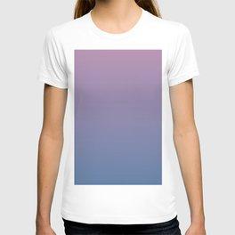 Gradient Dawn Pink Purple Blue T-shirt