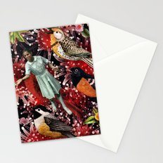 Happy Bird day | Collage Stationery Cards