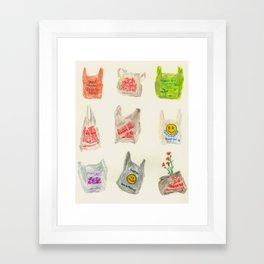 Thanks For Shopping Framed Art Print