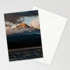 Mt. Hood at Sunset Stationery Cards