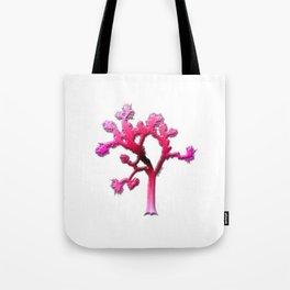Joshua Tree Strawberry Tote Bag