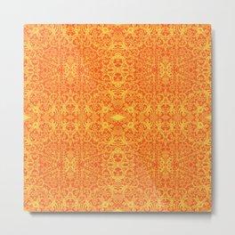 Lace Variation 11 Metal Print
