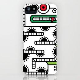 Koru-Fern Serpent iPhone Case