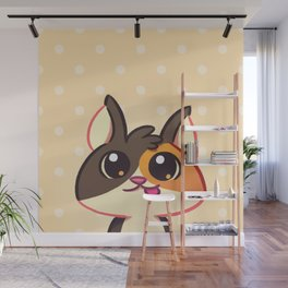 Curious Kitty Cat Wall Mural
