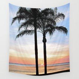 SRQ Bayfront Sunset Wall Tapestry
