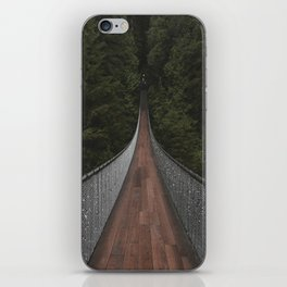Capilano Suspension Bridge iPhone Skin