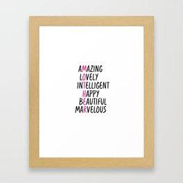 Mother Day Framed Art Print