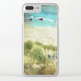 Colours by the Sea Clear iPhone Case