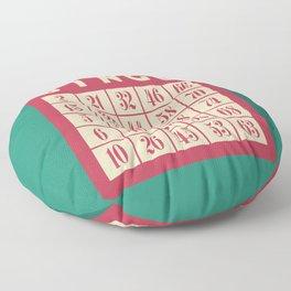 Bingo! Floor Pillow