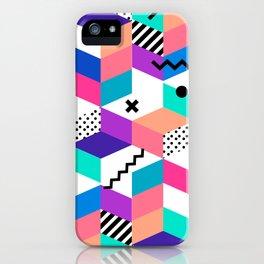 Memphis Design iPhone Case