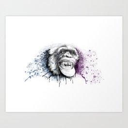 Smile Pretty  Art Print
