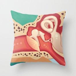 Ear Throw Pillow