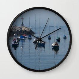Moored Wall Clock