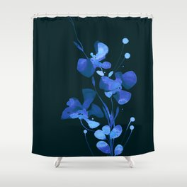 Organic Impressions 334zh by Kathy Morton Stanion Shower Curtain