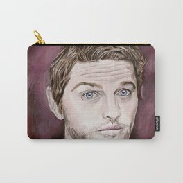 Misha Collins, acrylic painting Carry-All Pouch