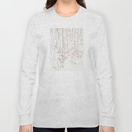 pink cherry blossom Long Sleeve T-shirt