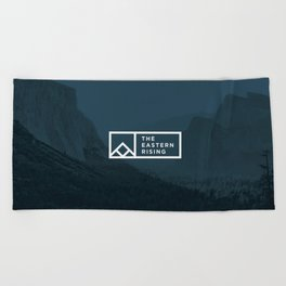 The Eastern Rising- Beach Towel_Standard Logo Beach Towel