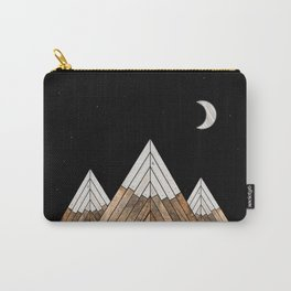 Digital Grain Mountains Carry-All Pouch