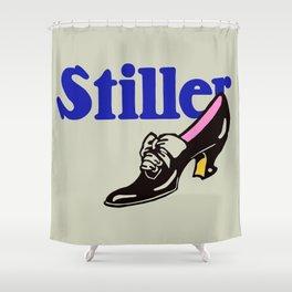 Stiller ladies' shoes Shower Curtain