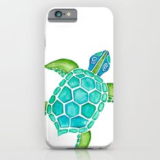 Watercolor Sea Turtle iPhone 6s Slim Case