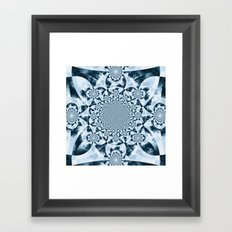 Kaleidoscope Forest Framed Art Print