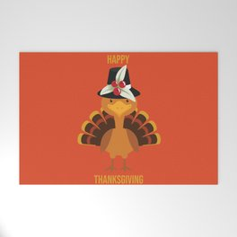 Happy Thanksgiving Welcome Mat
