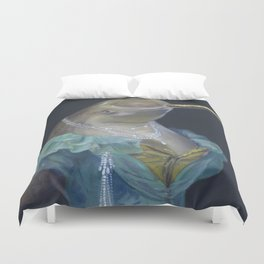 MADAME NARWHAL, by Frank-Joseph Duvet Cover