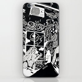 Diogenes Syndrome iPhone Skin