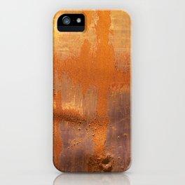 Orange 1 iPhone Case
