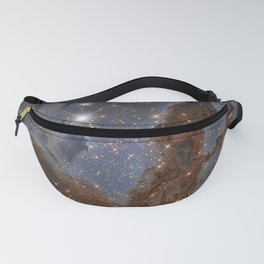1625. Pillars of the Eagle Nebula in Infrared  Fanny Pack