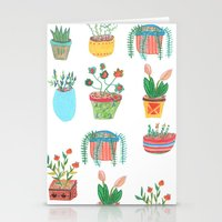 plants Stationery Cards featuring Plants. by Elga Libano
