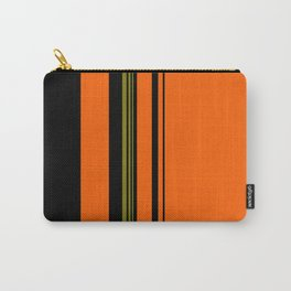 Orange Green Black Carry-All Pouch