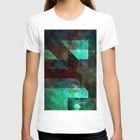 emerald T-shirts featuring Emerald Nebulæ  by Aaron Carberry