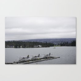 Looking out towards Stanley Park Vancouver Canvas Print