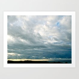 Grace Clouds Art Print