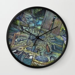 Expo 2017 Wall Clock