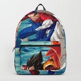 Goku Vegeta Gogeta SSJ Backpack