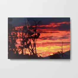 Central Oregon Sunset Metal Print