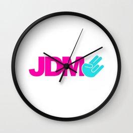 JDM shocker v6 HQvector Wall Clock