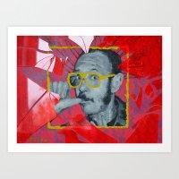 terry fan Art Prints featuring Terry by Dmitry  Buldakov